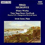 Mosonyi Mihály: Piano Works Vol.3