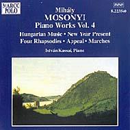 Mosonyi Mihály: Piano Works Vol.4