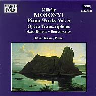 Mosonyi Mihály: Piano Works Vol. 5 - Opera Transcriptions