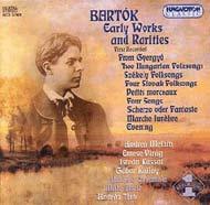 Bartók Béla: Korai művek és ritkaságok
