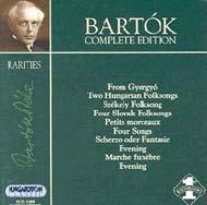 Bartók összkiadás - Ritkaságok