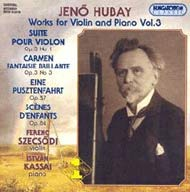 Hubay Jenő: Hegedű-zongoraművek 03.
