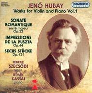 Hubay Jenő: Hegedű-zongoraművek 01.