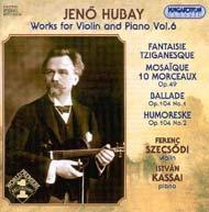 Hubay Jenő: Hegedű-zongoraművek 06.