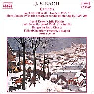 Bach, J.S.: Cantatas BWV 51 and BWV 208