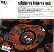 Contemporary Hungarian Music - Durkó Zsolt: Una rapsodia ungherese; Psicogramma; I. vonósnégyes; Szimbólumok; Fioriture