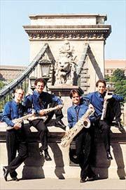 Budapest Szaxofon Quartet